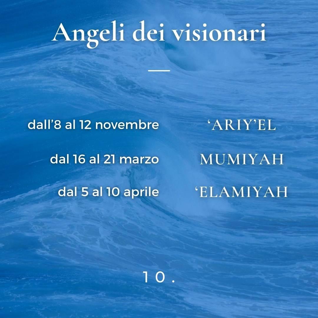 Angeli dei visionari