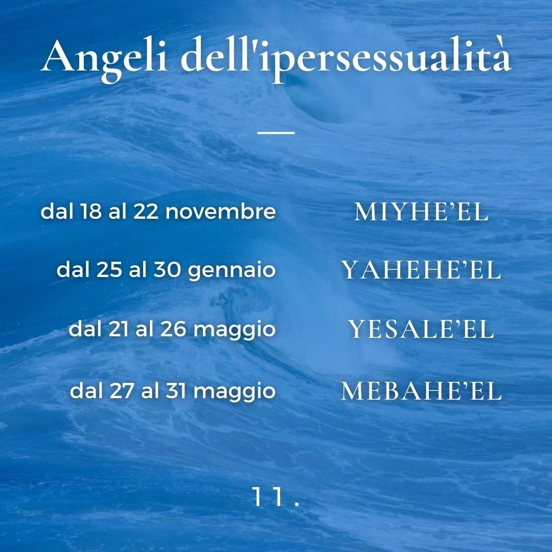 Angeli dell'ipersessualità