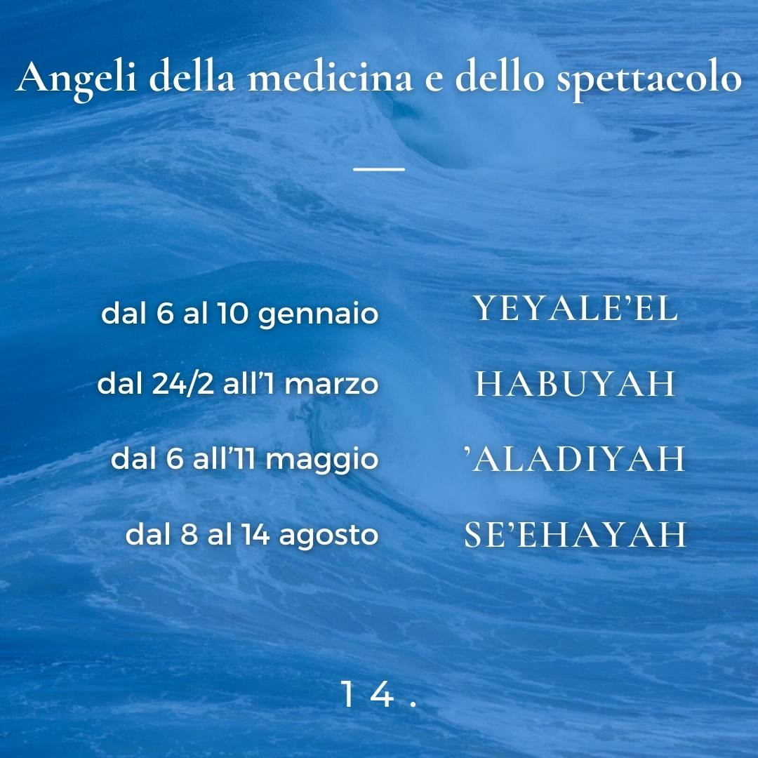 Angeli della medicina e dello spettacolo