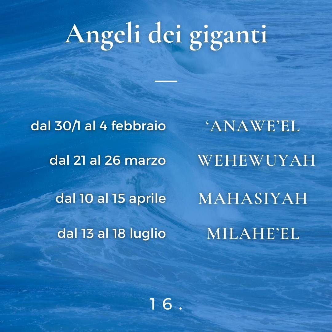 Angeli dei giganti