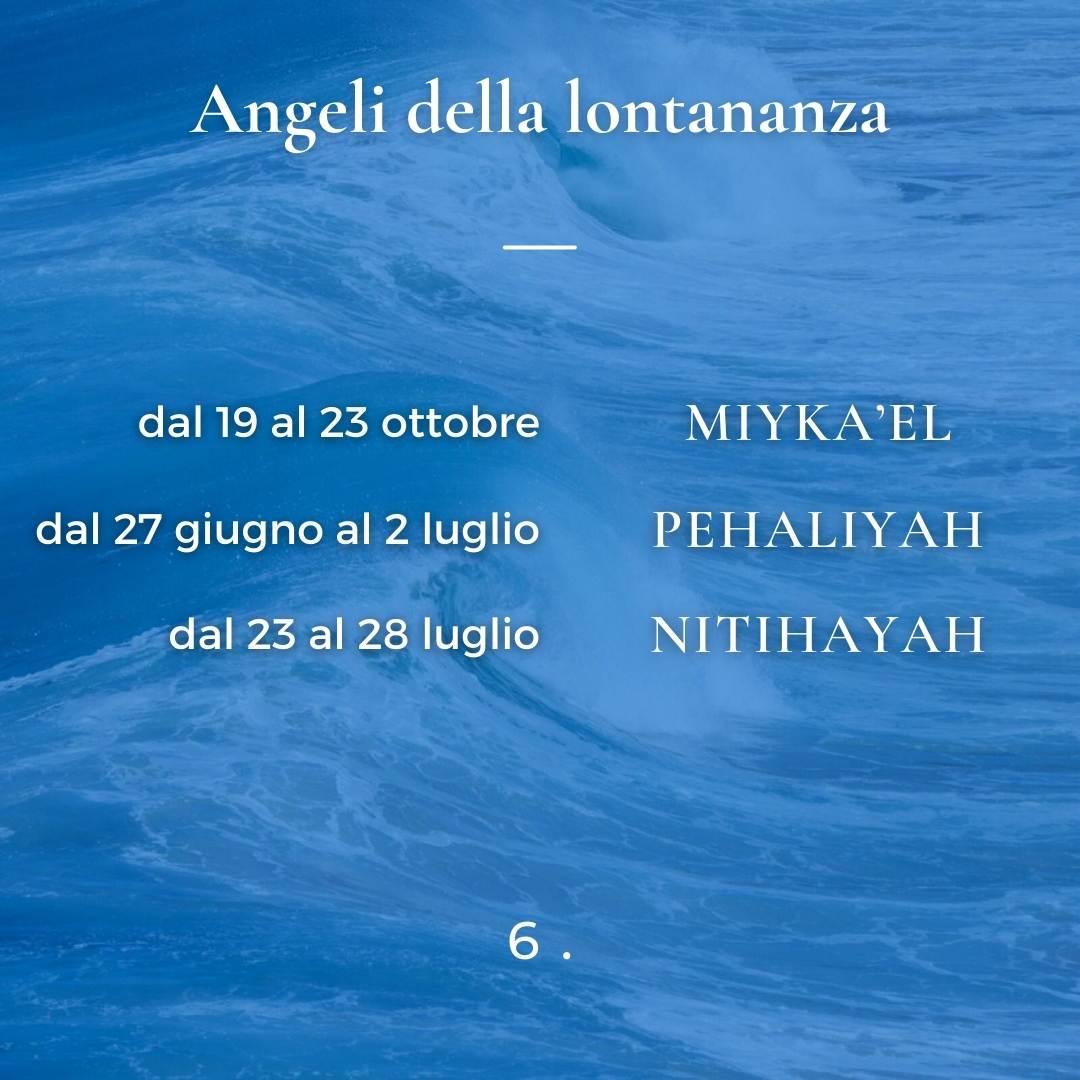 Angeli della lontananza