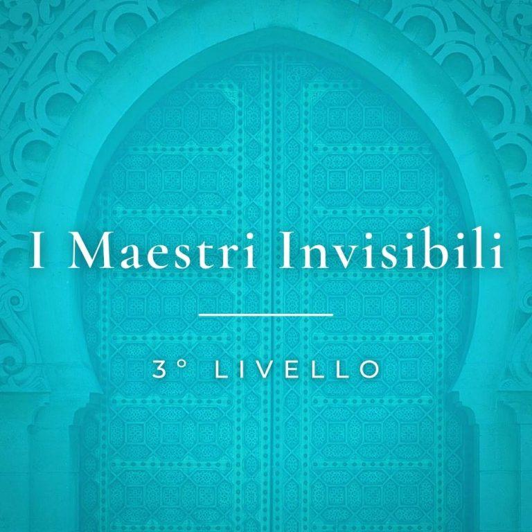 Maestri Invisibili 3 livello